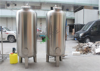SS304 5TPH Ro Water Treatment Plant / Reverse Osmosis Water Purification Plant