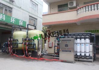 30TPH Ultrafiltration System RO Water Treatment Plant With Ozone Generator For Shrimp Aquaculture