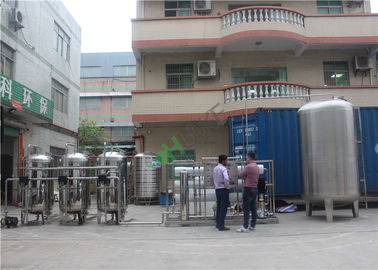 Drinking RO Water System Machine / RO Water Plant With High Pressure Pump