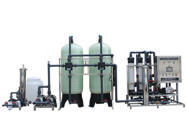 5000 Liter FRP Ultrafiltration Membrane System , Water Desalination Equipment