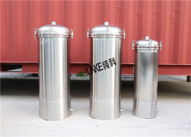 Security Industrial Cartridge Filter Housings For Water Purifying Plant