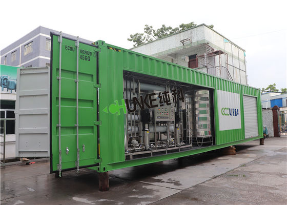 RO Unit 5T 10T 15T Industrial Ro System / Ro Plant For Chemical Production